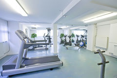 Empty sport room Royalty Free Stock Image