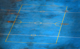 Empty sports court Royalty Free Stock Image