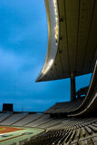 Empty sports stadium Stock Photo