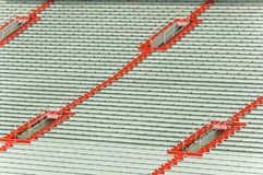 Empty sports stadium Royalty Free Stock Photo