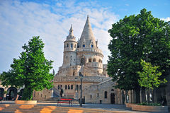 Empty square of Fisherman's bastion Stock Photo