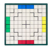 Empty square game board Royalty Free Stock Photography