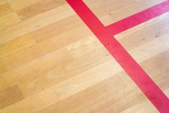 Empty squash court color toned image stock image