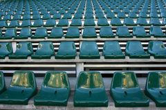 Empty Stadium Stock Image
