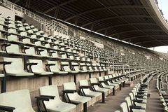Empty stadium Royalty Free Stock Images