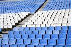Empty stadium. Empty seats in a stadium royalty free stock photos