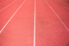 Empty stadium arena and race running Royalty Free Stock Images