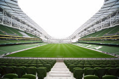 Empty stadium Aviva Stock Images