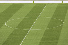 Empty stadium field Stock Image