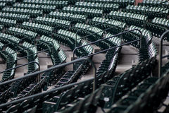 Empty Stadium Gang Chair S Royalty Free Stock Images