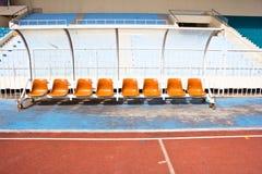 Empty stadium Stock Photography