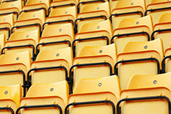 Empty stadium seat Stock Photos