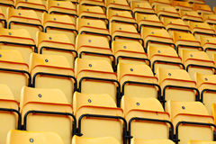 Empty stadium seat Stock Images