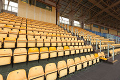 Empty stadium seat Royalty Free Stock Photos