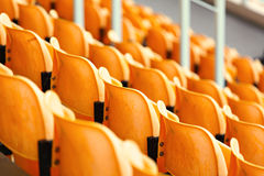Empty stadium seat Stock Photography