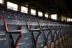 Empty Stadium Seats Stock Images