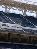 Empty stadium seats royalty free stock photo