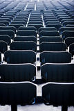Empty Stadium Seats royalty free stock photos