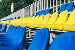 Empty Stadium Seats Stock Photos
