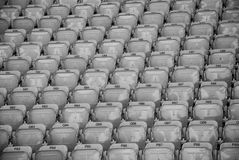 Empty, stadium seats Stock Photography