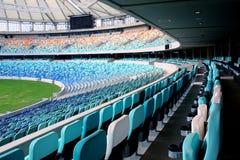 Empty Stadium Seats Royalty Free Stock Image