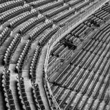 Empty stadium seats Stock Images
