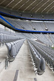 Empty Stadium Tribunes Royalty Free Stock Photos
