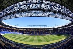 "Empty stadium ""Metalist"". Panoramic view. Royalty Free Stock Photo"