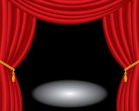 Empty stage Royalty Free Stock Image