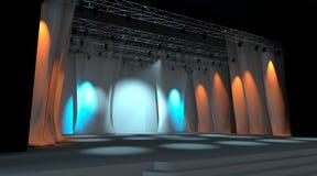 Empty stage Stock Image