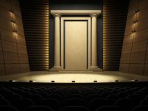 Empty stage Stock Photography