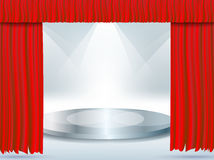 Empty stage Royalty Free Stock Photography