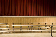 Empty stage Stock Photo