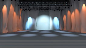 Empty stage animation