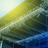 Empty stage before a concert Royalty Free Stock Image