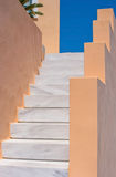 Empty staircase in Santorini Royalty Free Stock Photography
