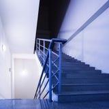 Empty stairs Stock Photos
