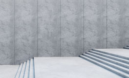 Empty stairs in the city Royalty Free Stock Image