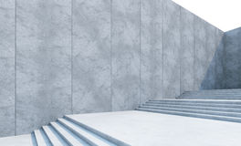 Empty stairs in the city Royalty Free Stock Photography