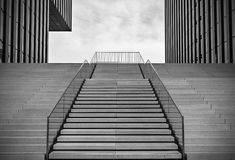 Empty stairs Royalty Free Stock Photos