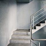 Empty stairway Stock Photo