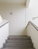 Empty stairway. Empty office building stairway composition Royalty Free Stock Photo