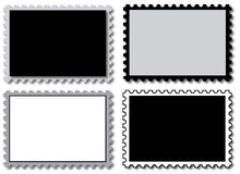 Empty stamps for filling Stock Photography