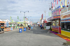 Empty state fair Stock Photography