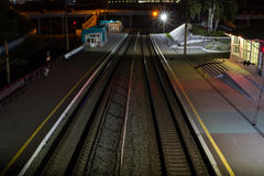 empty station Στοκ φωτογραφία με δικαίωμα ελεύθερης χρήσης