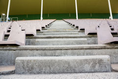 Empty steps in stadium Royalty Free Stock Image