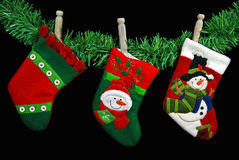 Empty Stockings Royalty Free Stock Photography