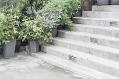 empty stone stairway Stock Images