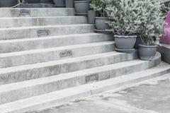 empty stone stairway Stock Image