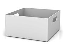 Empty storage box Royalty Free Stock Photos